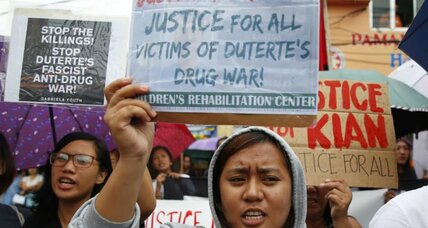 Filipinos caught in the crossfire of anti-drug campaign: 'we're the victims.'